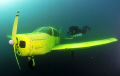 My 3. dive in Kreidesee Hemmoor, Germany. Foto: the
