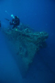 Bow of Wreck, Truk Lagoon