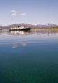 The Hurtigruten ship