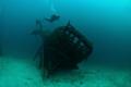 Scuba Dive Site: Bacvica Borko, Šibenik-Knin, Croatia.Water temperature between 18ºC and 24ºC.Visibility between 10 and 30 meters.