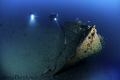 A little  but beautifull ww2 german  wreck in the Ionian Sea.