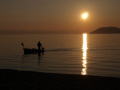 First sunset for 2011 at Chalkidiki, Greece