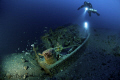 ww2 Little German WRECK - Bettolina di Lazzaro