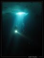sous-glace au lac de Lioson