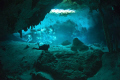 Cenote, Dos Ojos, Mexico,  Riviera Maya. 
