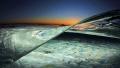 After sunset in tide pool Laguna Beach