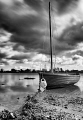 Ebbing tide at Bosham, West Sussex.