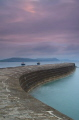 Just after sunrise on the Cobb, Lyme Regis.  Taken with Nikon D7000