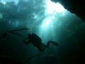 North Florida cave diver; ISO: 64, f/2.8, Exp: 1/164