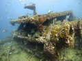 Gibraltar Wreck  deteriorating over time due to weather