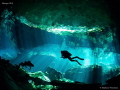 Cenote lighting