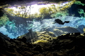 Reflections of Chac Mool, Cenotes, Mexico